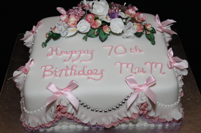 Birthday Cake Designs For A Lady : Female Birthday Cakes Sliced Delights
